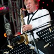 Russian jazz musician Igor Butman performs — Stock Photo #7131700