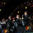 Igor Butman and his band performing — Stock Photo #7131702