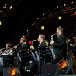 Igor Butman and his band performing — Stock Photo