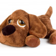 Puppy toy as a gift — Stock Photo #7135191