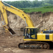 The excavator - Stock Photo