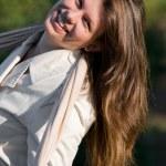 Beautiful young woman — Stock Photo #7609512