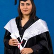 Holder of a master's degree — Stok fotoğraf