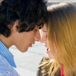 Happy teen couple — Stock Photo #7609978