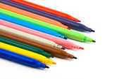 Fibre pens — Stock Photo