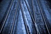 железнодорожные — Стоковое фото