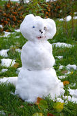 Snowman — Stok fotoğraf