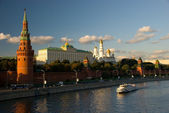 Kremlin in Russia, Moscow, Red Square — Stock Photo