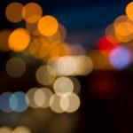 Light of traffic — Stock Photo