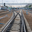 Stock Photo: Railway junction.