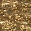 Stock Photo: Gold foil surface