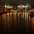View of the Kremlin from Moscow River bridge — Stock Photo #7618984