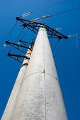 Elektriska pelare — Stockfoto
