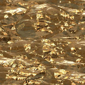 Gold foil surface — Stock Photo