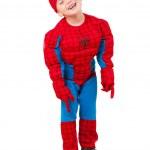 Little boy in carnival costume — Stock Photo