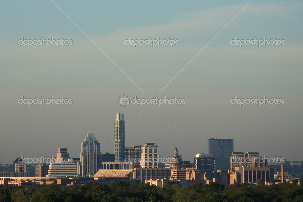 Buildings of the Texas capitol city, Austin. — Stock Photo #7162777