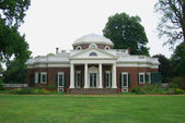 Monticello, home of Founding Father Thomas Jefferson in Virginia. — Stock Photo