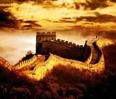 Great wall of Badaling — Foto de Stock