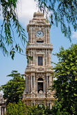 Dolmabahce clock tower — Stock Photo