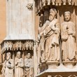 Sculptures sacred in Tarragona — Stock Photo