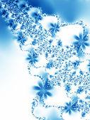Winter background. Vector illustration — Stock Vector