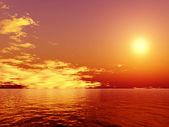 Sunset — 图库照片