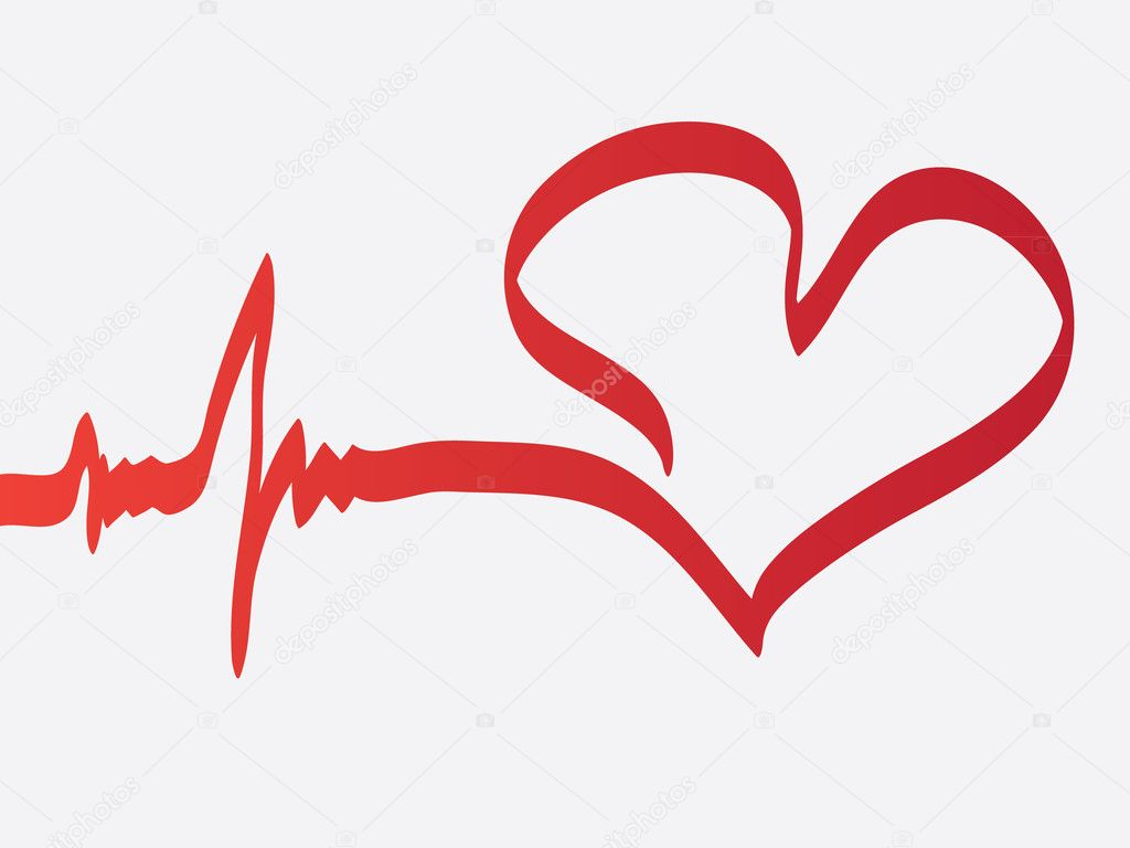 Heart beats — Stock Vector #7174557