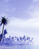 Tropikalna wyspa — Zdjęcie stockowe