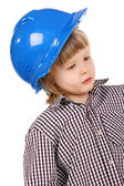 Child in helmet — Stock Photo