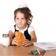 Child eating — Stock Photo #6813057