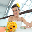 Pretty young bride — Stock fotografie