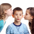 Little kiss — Stock Photo