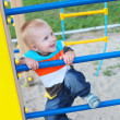 Boy on the playground — Stock Photo