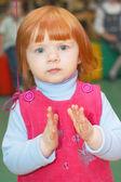 Cute dziewczynka — Zdjęcie stockowe