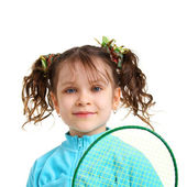 Pretty sporty girl — Stock Photo