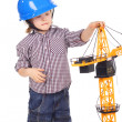 Stock Photo: Little builder