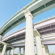 Pillars and elevated road - Stockfoto