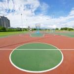 Outdoor basketball court — Stock Photo #7133855