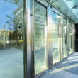 Transparent door — Foto de Stock