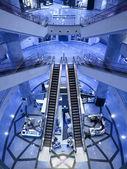 Krásné eskalátor — Stock fotografie