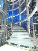 Trasnparent merdiven — Stok fotoğraf
