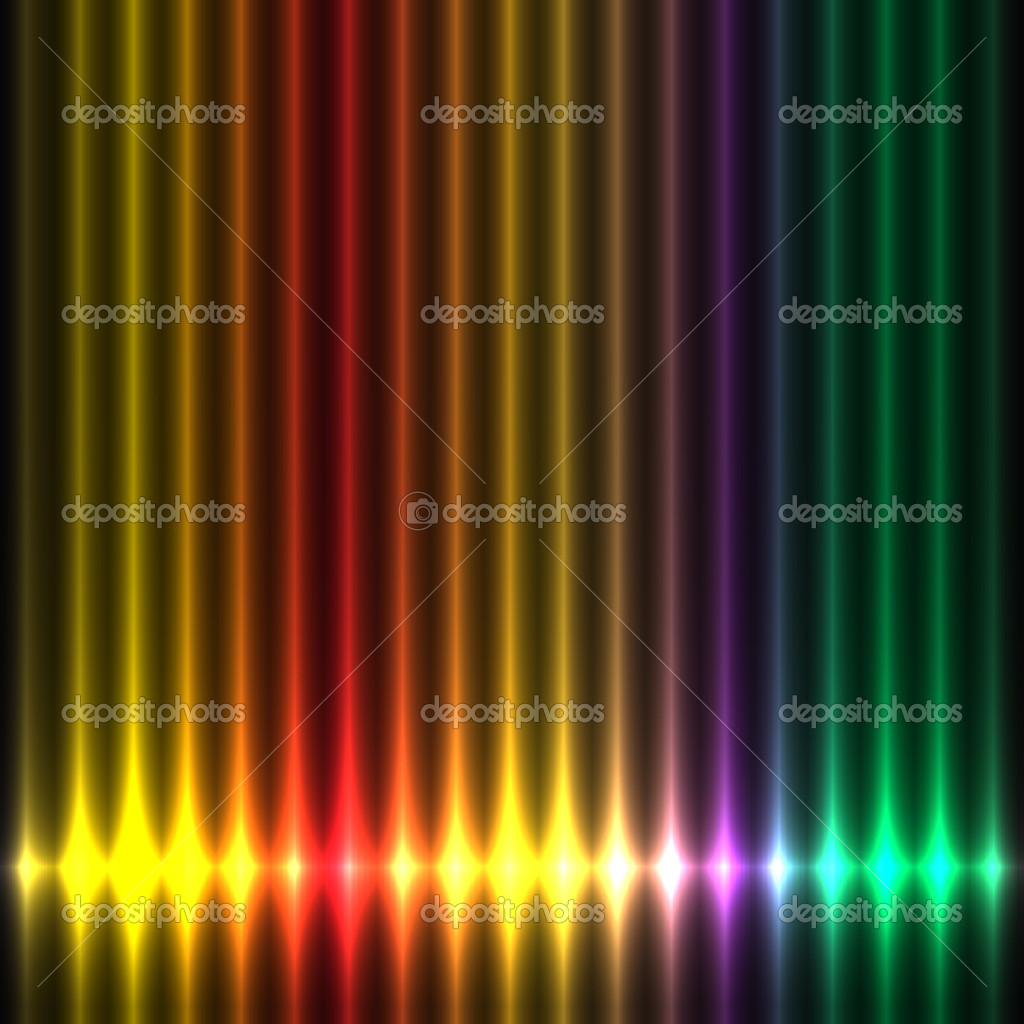 Abstract design colorful lights play — Stock Vector #6911771