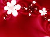 гирляндой цветов — Стоковое фото