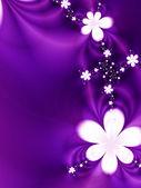 çiçek çelenk — Stok fotoğraf