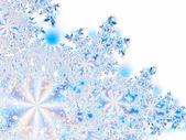 Flores de hielo — Foto de Stock