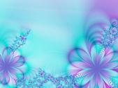 Ghirlanda di fiori — Foto Stock