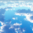 Stock Photo: Beautiful cloudscape