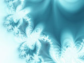 Abstract ice-ferns — Stock Photo