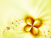 Garland of flowers — Stock Photo