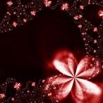 guirlanda de flores — Foto Stock